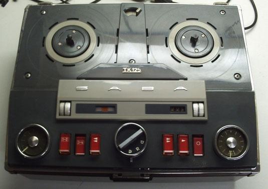 TK 125-4 Tonband von Saba