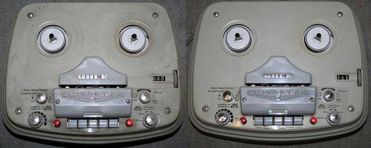 Uher Universal S bei Bandmaschinen und Kassettenrekorder
