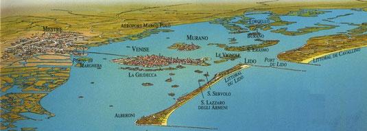 La lagune de Venise