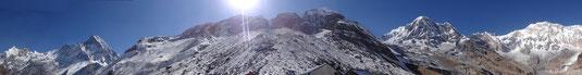 Du Machhapuchhare à l'Annapurna