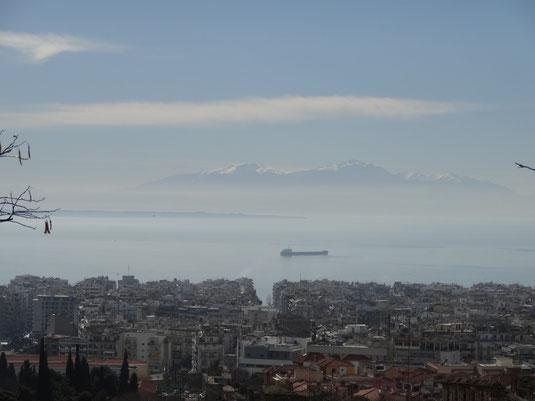 Le mont Olympe, culminant sur toute la Grece!