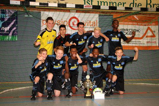 Sieger 31. Weihnachtscup: Hamburger SV