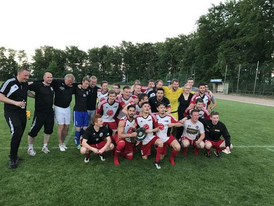 1. Herren SV Viktoria 08 Georgsmarienhütte - Bezirksligameister 2016/17