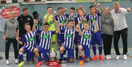 Sieger 34. Weihnachtscup: Hertha BSC