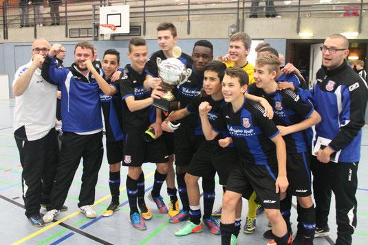 Sieger C-Jugend Weihnachtscup 2014: FSV Frankfurt