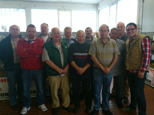Die Aussteller der Preisrichterschau 2013 in Waldbröl