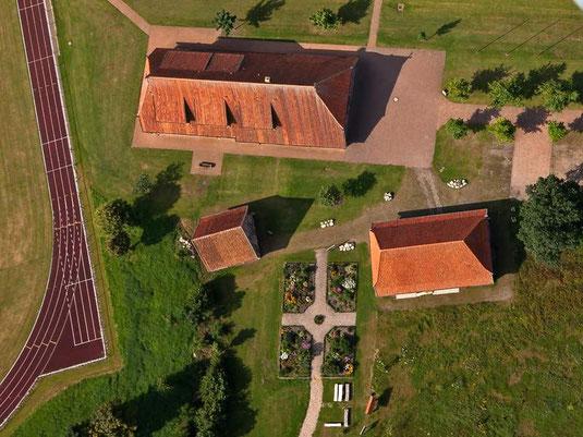 Das Brockwischenhus in Hemsliingen mit dem Projekt-Bauerngarten
