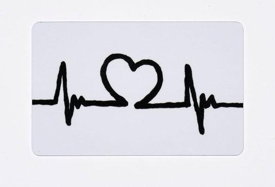 "Edzard Dideric plastic creditcard ""Heartbeat"" by loveprototo, Köln, Germany."
