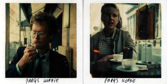 Edzard Dideric & Marjolein Budding in Parijs in 2e helft jaren '70.