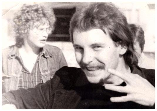 Edzard Dideric & Brecht Swaanswijk 70'r jaren.