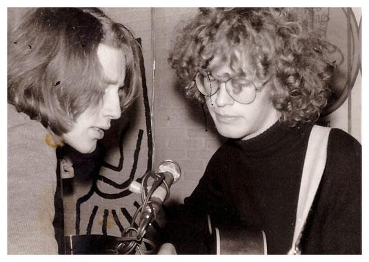 Song & dance : Gertjan Nooder en Edzard Dideric eind 60'r jaren.