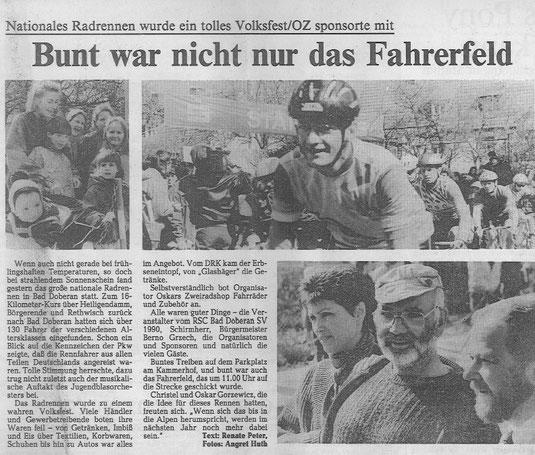Auch Jörg Wolff Gebauer war einst ein aktiver Radsportler - heute ist der Mitglied der sportlichen Leitung des BIKE Market Teams