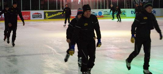 Spaß in der Eishalle Rostock