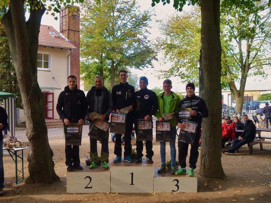 Staffelsieg für Marcel und Tom Gröschel