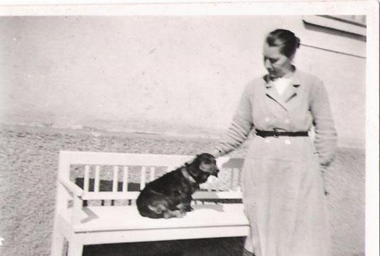 Frau Oberlehrer Wöss 1952