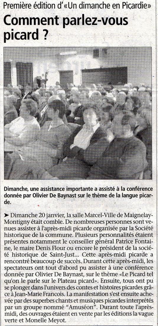 Le Bonhomme picard du 23 janvier 2008