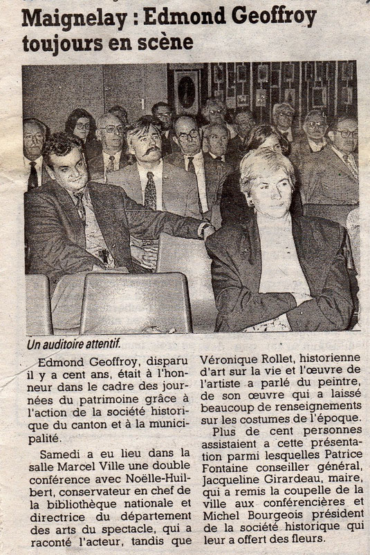 Le Courrier Picard du 3 octobre 1995