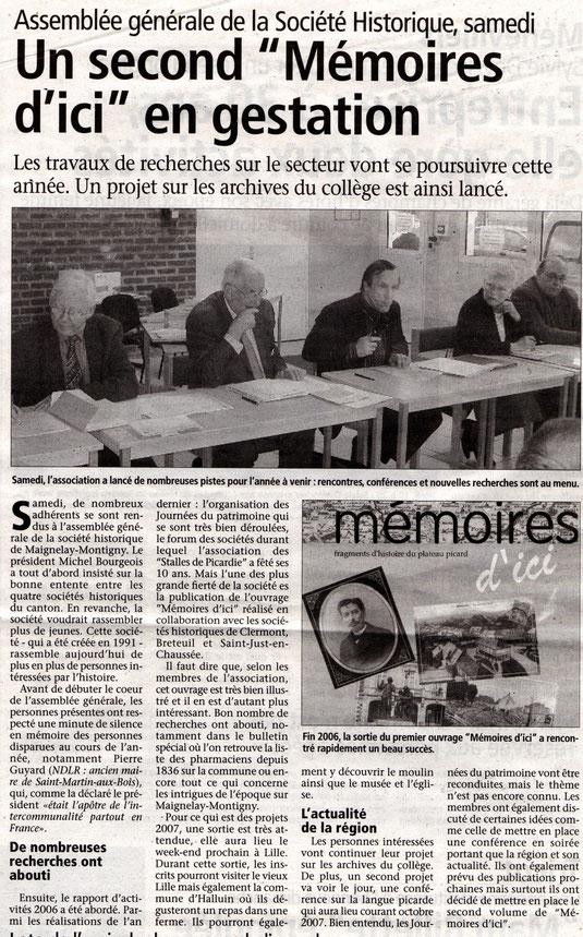 Le Bonhomme picard du 28 mars 2007