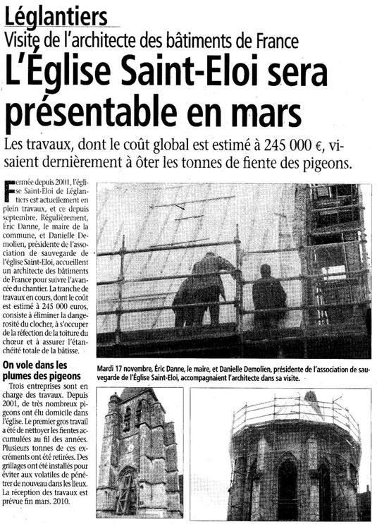 Le Bonhomme picard du 25 novembre 2009
