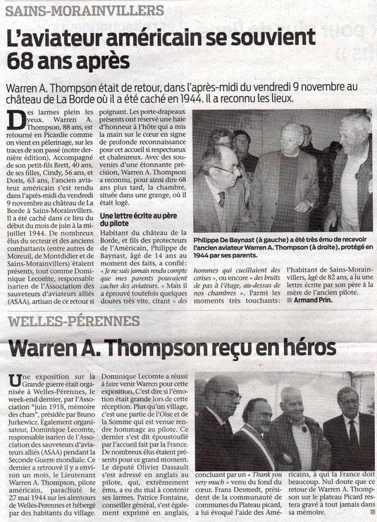 Le Bonhomme picard du 14 novembre 2012