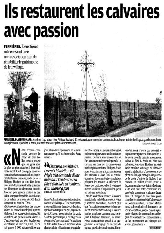 Le Parisien du 5 septembre 2010
