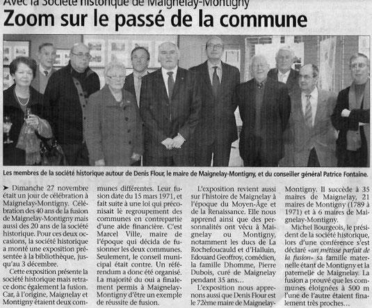 Le Bonhomme Picard du 30 novembre 2011