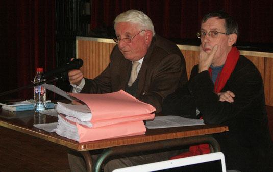 Michel BOURGEOIS et Patrick ANSAR