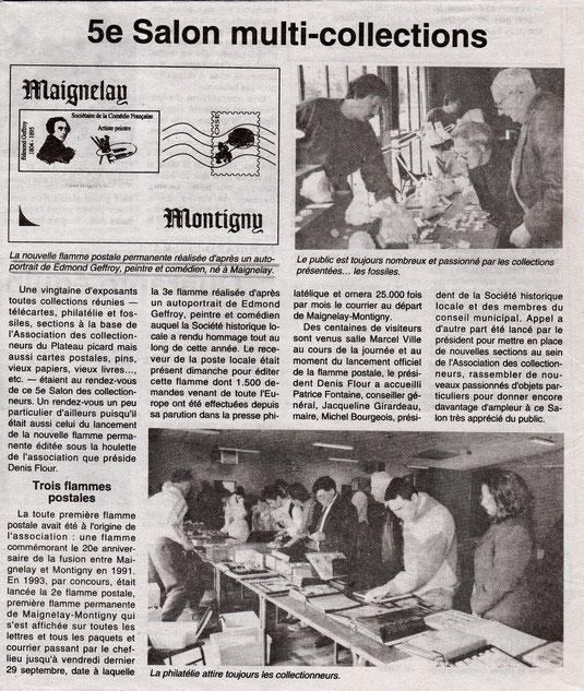 Le Bonhomme picard du 6 octobre 1995