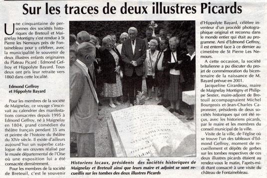 Le Bonhomme Picard du 8 octobre 1997