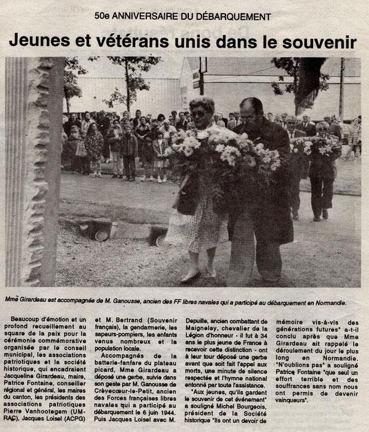 Le Bonhomme picard du 17 juin 1994