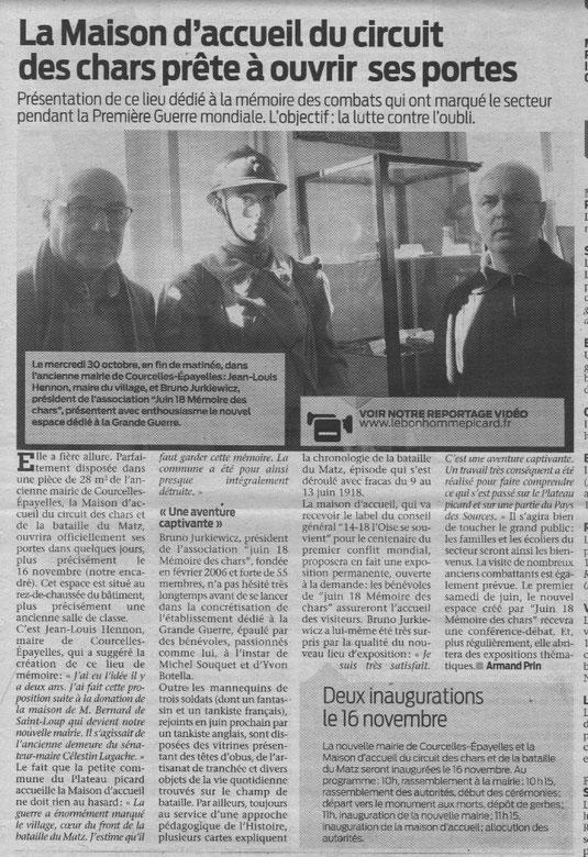 Le Bonhomme Picard du 6 novembre 2013