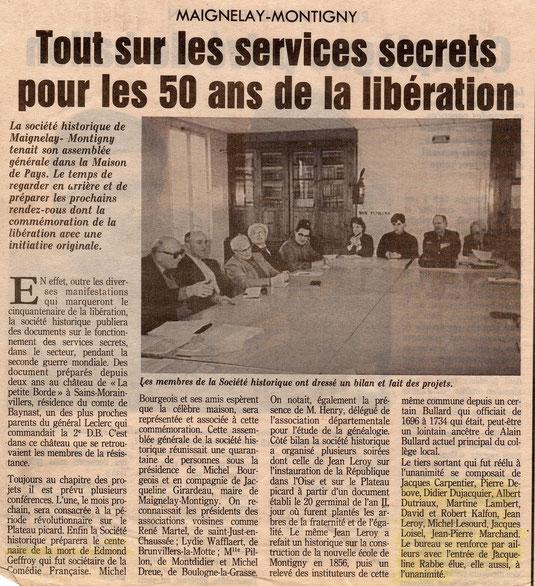 Le Parisien du 4 mars 1994