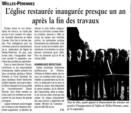 Oise Hebdo du 19 septembre 2007