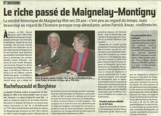 Le Courrier Picard du 1er décembre 2011