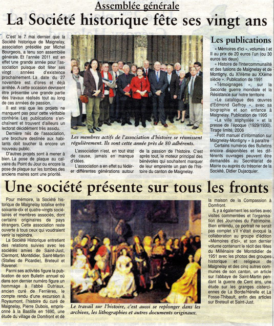Oise Hebdo du 18 mai 2011