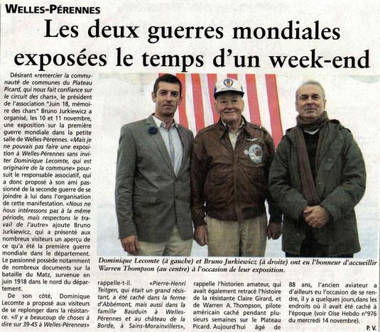 Oise Hebdo du 21 novembre 2012