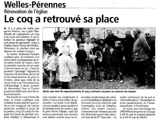 Le Bonhomme picard du 14 novembre 2004