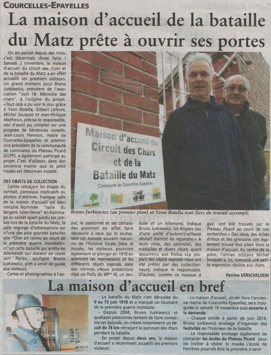 Oise Hebdo du 6 novembre 2013