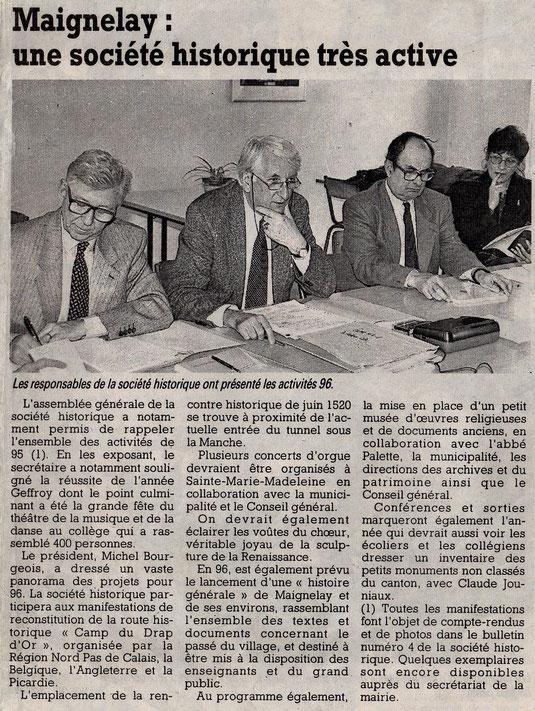 Le Courrier Picard du 14 mars 1996