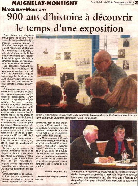 Oise-Hebdo du 30 novembre 2011