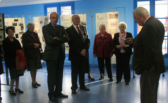 Inauguration de l'exposition le 27 novembre 2011