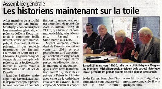 Le Bonhomme Picard du 28 mars 2012