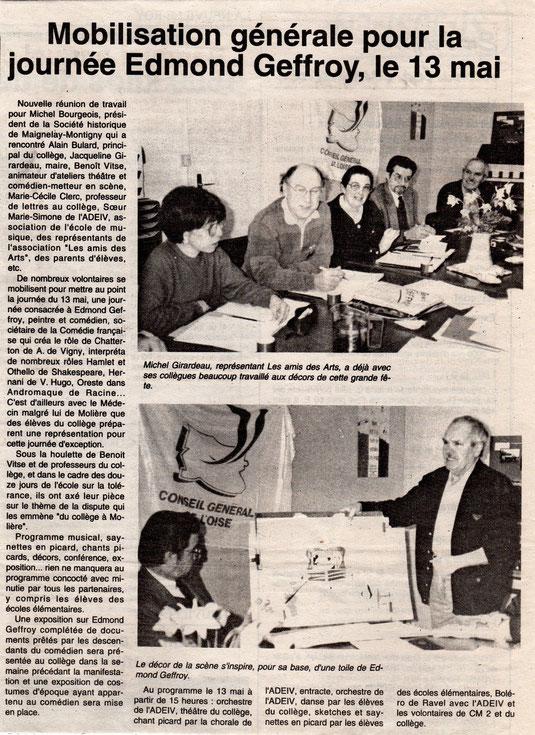 Le Bonhomme picard du 31 mars 1995