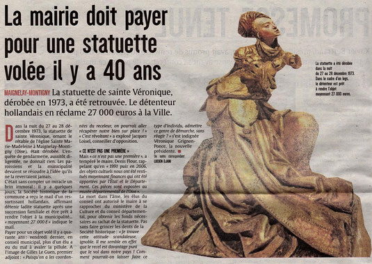 Courrier picard du 3 octobre 2016
