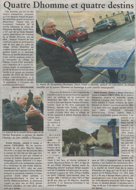 Oise Hebdo du 18 septembre 2013