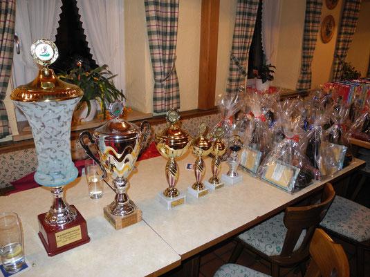 Pokale und Preise Bürgerschießen 2013