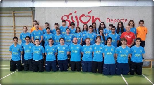 Equipo Astures en la temporada 2013/14