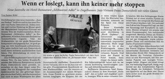 Rhein-Neckar-Zeitung, 18.März 2014