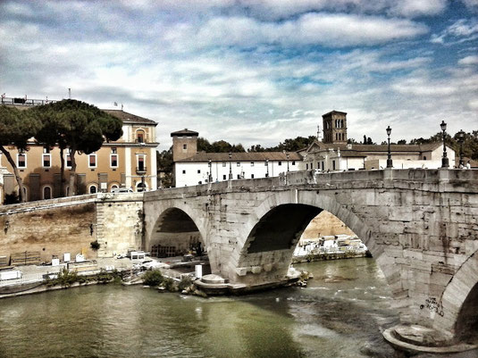 Трастевере Рим фото