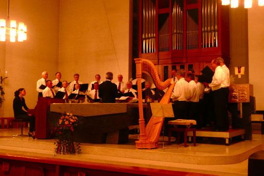Dirigent: Werner Wyss, Uster .........        Liedbegleitung: Rahel Sohn Achermann, Baden